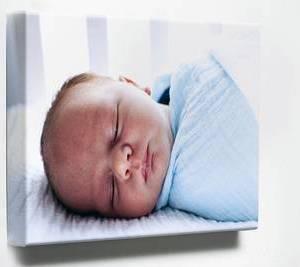 Foto op canvas (4 cm frame) 50x90 cm