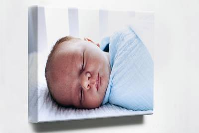 Foto op canvas (4 cm frame) 80x80 cm