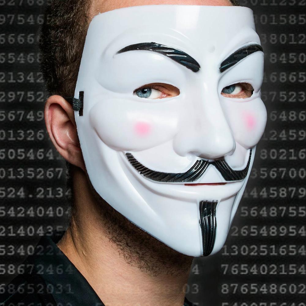 Guy Fawkes masker