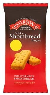 Overige Paterson - Shortbread Fingers 40 Gram