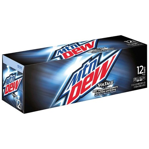 Mountain Dew Mountain Dew - Voltage 355ml 12 Blikjes