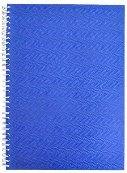 Verhaak fotoplakboek A5 21,5 x 16 cm karton/pergamijn blauw