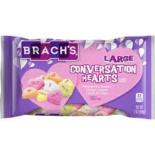 Brach's Brach's - Large Conversation Hearts 198 Gram
