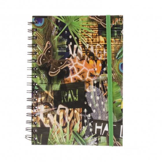 Dresz notitieboek Urban Nature A5 80 pagina's multicolor