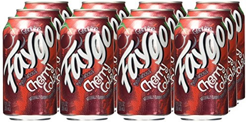 Faygo - Cherry Cola 355ml 12 Blikjes