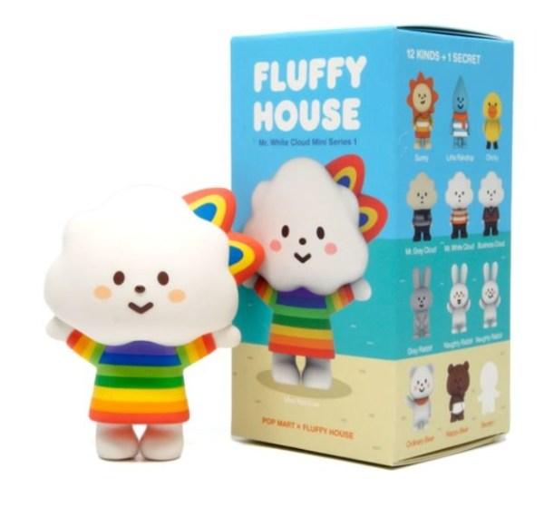 POP MART POP MART Fluffy House serie 1 blind box