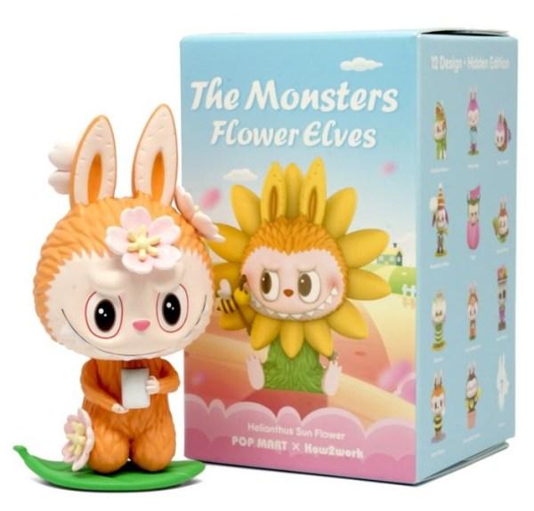 POP MART POP MART LABUBU (The Monsters Flower Elves) blind box