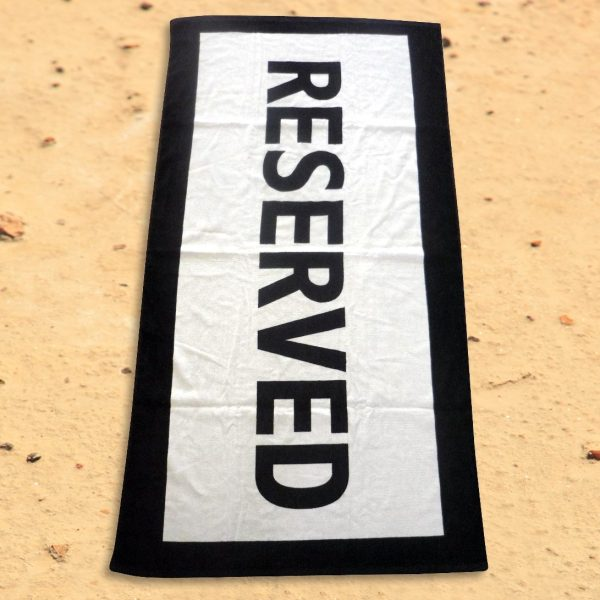 Reserved Badhanddoek - Iggi
