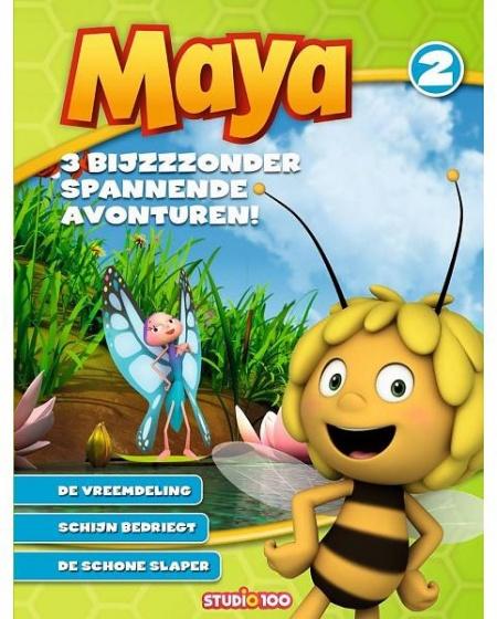Studio 100 voorleesboek Maya de Bij: drie bijzondere avonturen deel 2