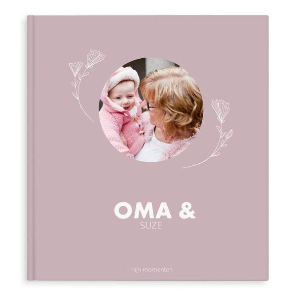 Momenten fotoboek maken - Oma & ik/wij - XL - Hardcover - 40 pagina's