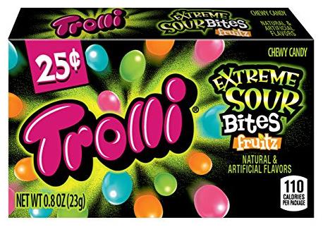 Trolli Trolli - Extreme Sour Bites Fruitz 23 Gram