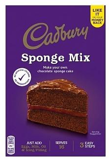 Cadbury Cadbury - Chocolate Sponge Mix 400 Gram