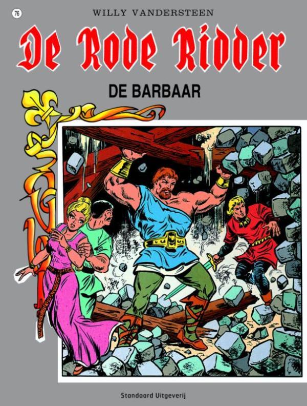 De Rode Ridder 76 - De barbaar