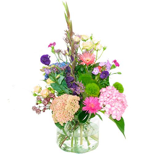 Palet boeket roze lila-paars