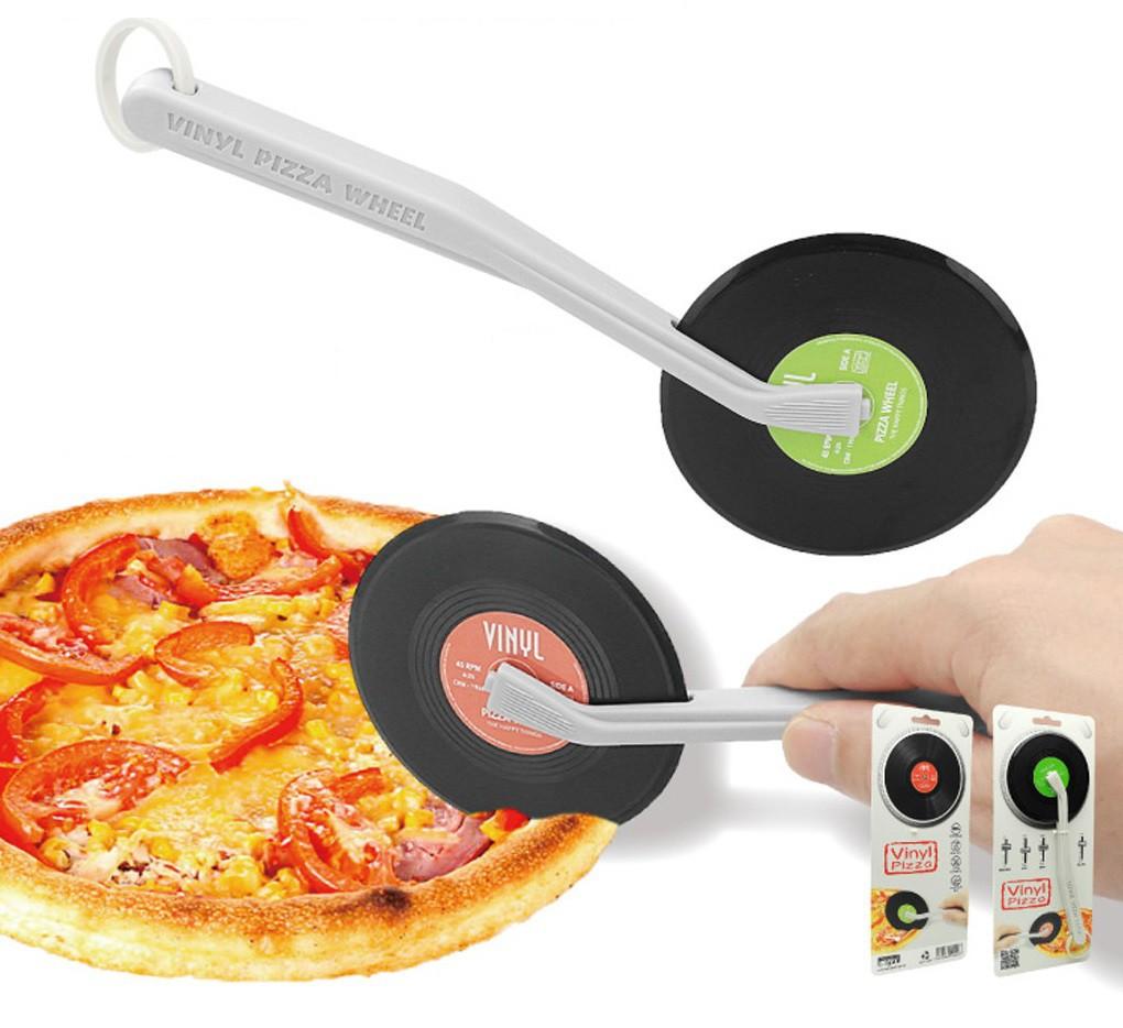 Pizzasnijder Vinyl - Rood