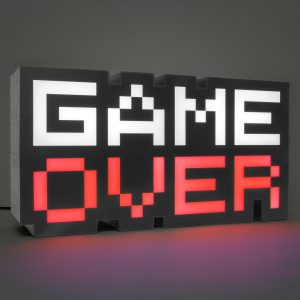 Game Over Lamp
