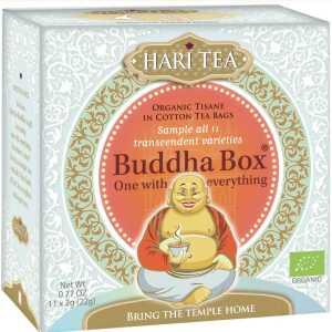 Hari Tea Buddha Box, bio