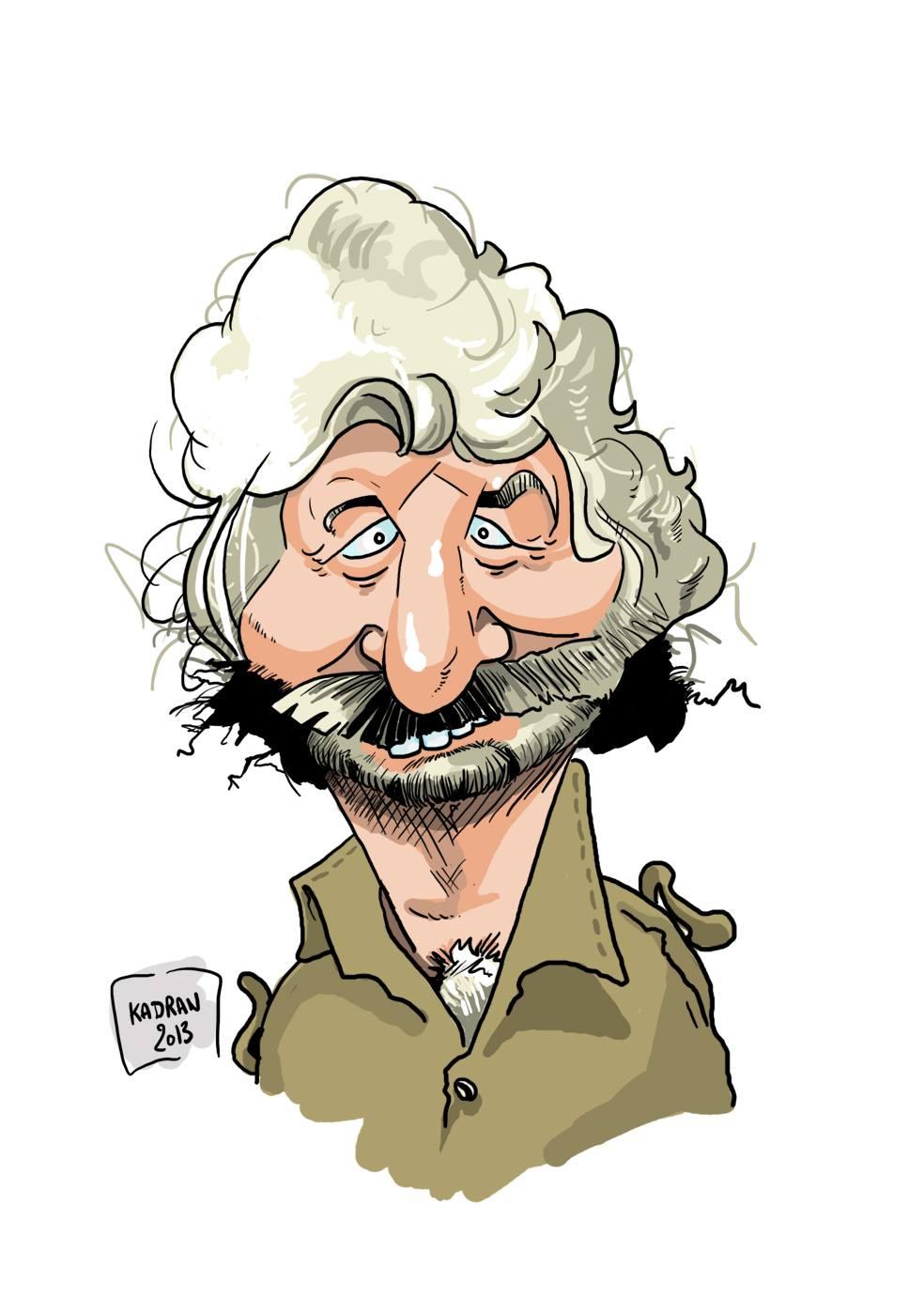 Jan Neggers Chasseur de têtes en BELGIQUE - Artiste peintre et caricaturiste