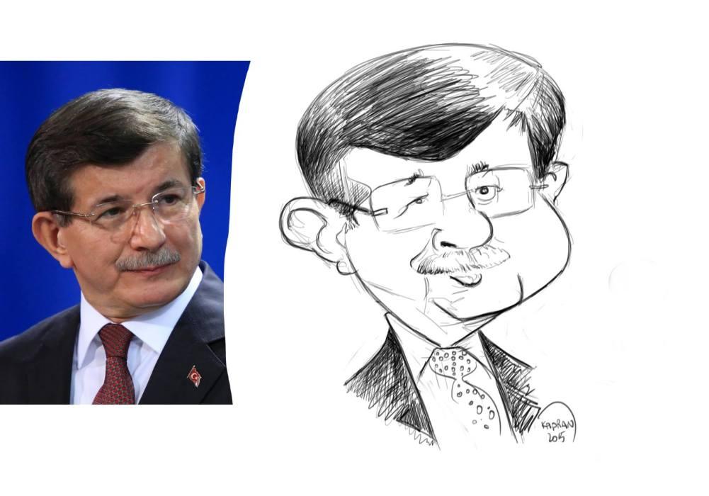 Ahmet-Davutoglu-caricature 01