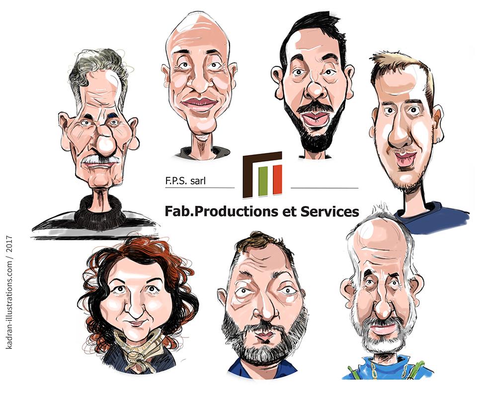 Mailing personnalisé pour FAB. PRODUCTIONS & SERVICES