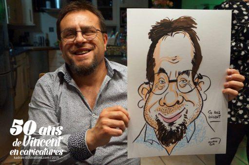 50 ans de Vincent en caricatures