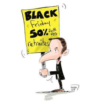 Black friday sur vos retraites