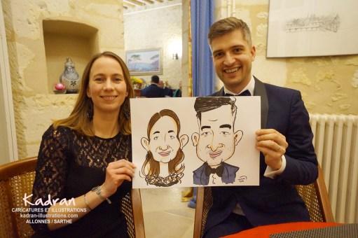 Anniversaire de Julien en caricatures