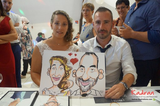 Animation caricatures au mariage de Julie et Jérôme (37)