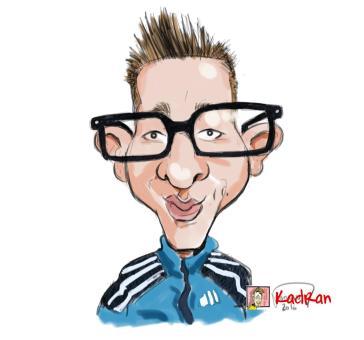 Caricature sur photo - Commandez votre caricature sur kadran-illustrations.com