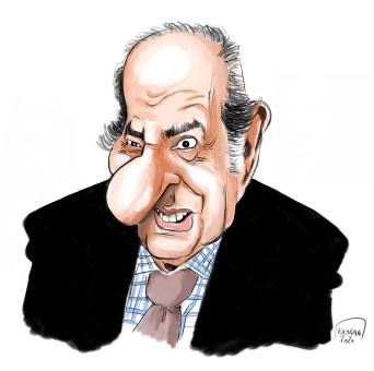 Pierre Bénichou caricature