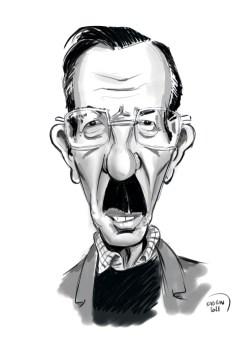 Jean Bouise caricature