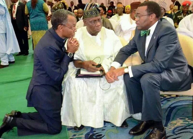 elrufai and obasanjo