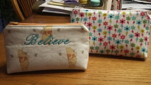 COSMETIC POUCHES - customizable