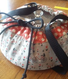 Round Insulated Casserole Carrier
