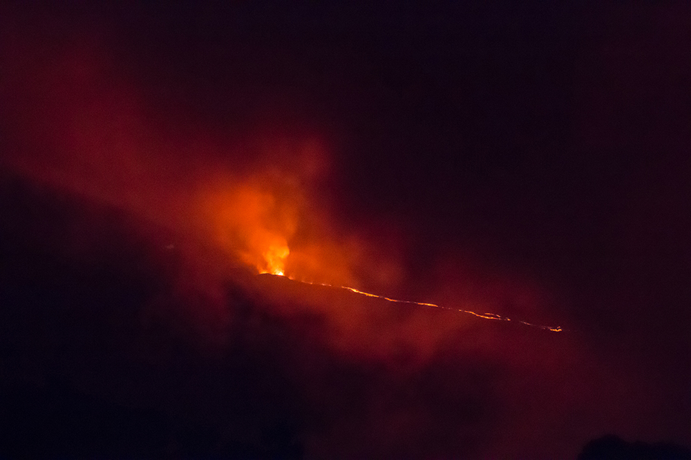 Eruption Volcan Piton de la fournaise