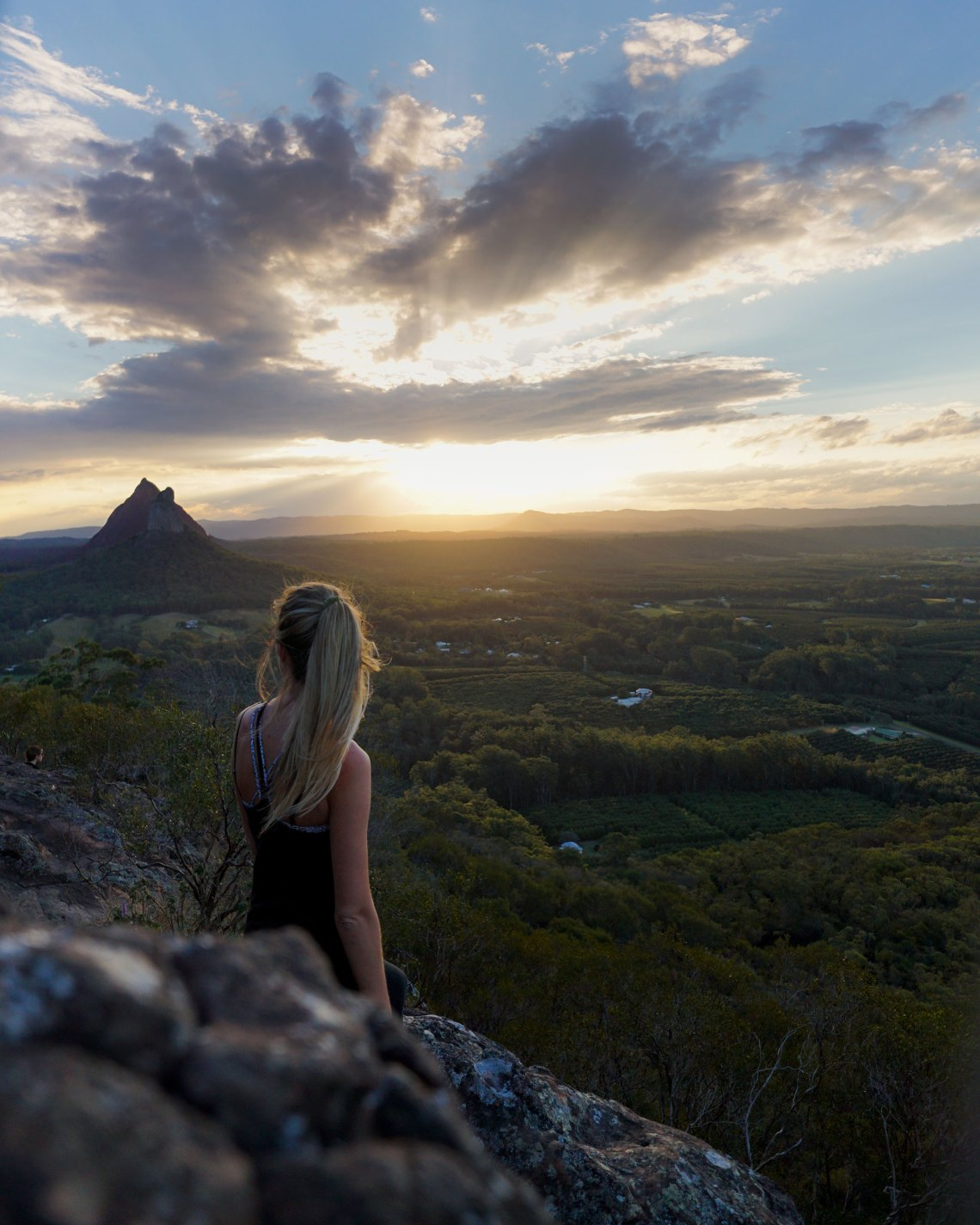 Glass House Mountains Sunset
