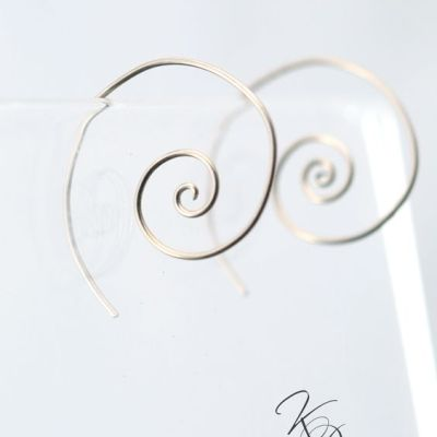 Nautilus Earrings by Kaelin Design