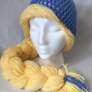 Cinderella Inspired Princess Crochet Hat