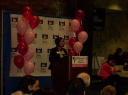 Introducing Keynote, Shelby Knox, at Lobby Day in Albany - 2010