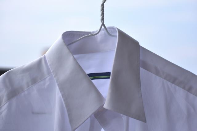 シャツの襟