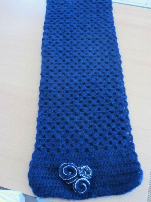 Ma nouvelle écharpe - dimensions de rêves, 2 mètres de long pour 25 cm de large - Winter is coming ?? ben qu'il vienne suis paré moi !!