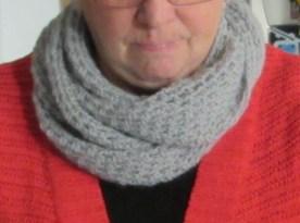 """Un """"cowl scarf"""" bien chaud"""