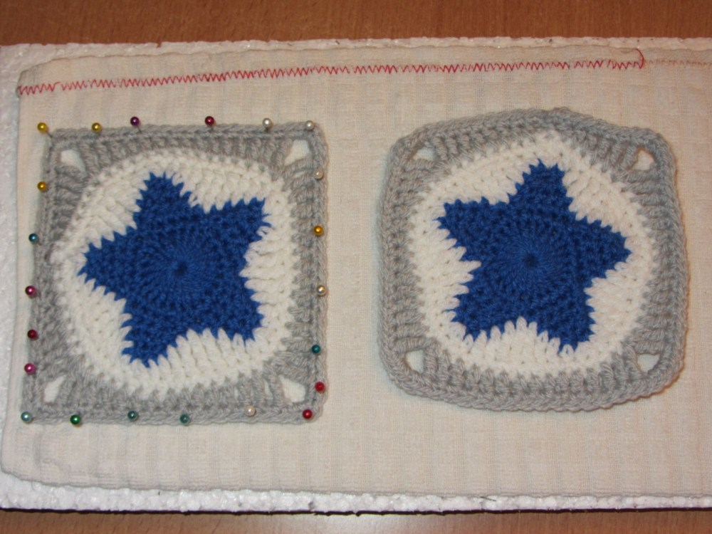 Couverture Etoiles / All star Baby Blanket (1/6)