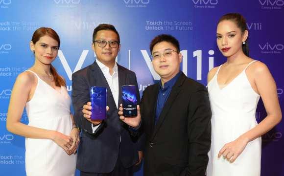 Vivo เผยโฉมสมาร์ทโฟนรุ่นใหม่ล่าสุด Vivo V11, V11i ในประเทศไทย