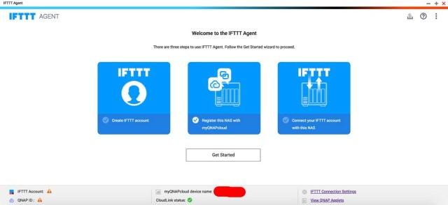 แอป IFTTT Agent คือแอปที่จำเป็นในการตั้งค่าให้ QNAP NAS แจ้งเตือนผ่าน LINE