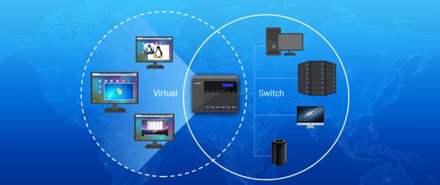 ทำ Virtual network ได้ง่ายๆ ยังกะเล่น Minecraft ด้วย QNAP NAS 2