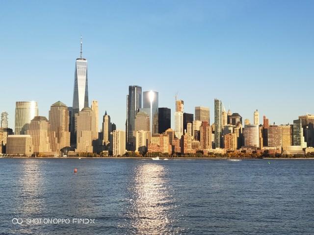 ล่องเรือชมวิวฝั่งนิวยอร์ก ก็วิวสวยดีอยู่