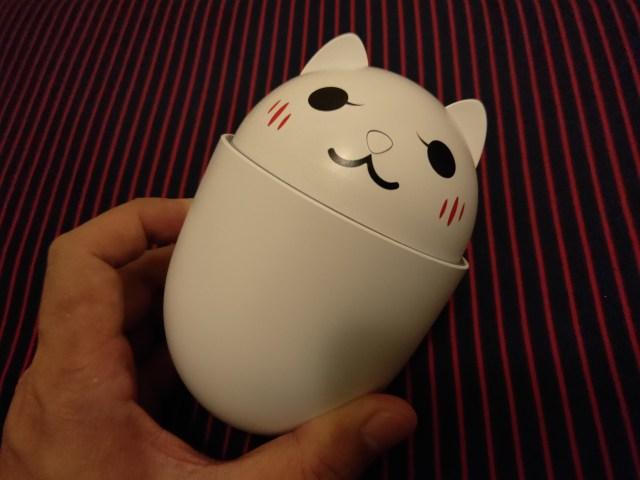 หน้าตาของ Humidifier ที่ผมซื้อมา รูปแมวเหมียวน่ารักเชียว