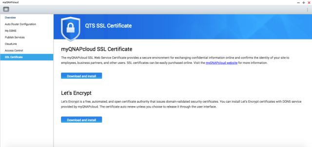 ติดตั้ง SSL Certificate ฟรีให้ QNAP NAS ใช้ myQNAPcloud แบบปลอดภัย 2