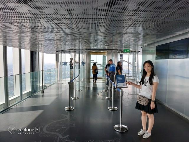 ถ้าเรามีบัตรขึ้นไป Rooftop ก็จะขึ้นลิฟต์นี้ไปที่ชั้น 78 ต่อได้